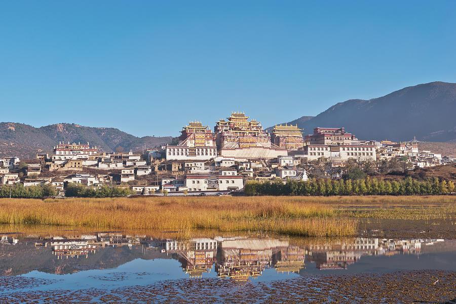 Songzanlin Monastery, Shangri-la China Photograph by Nutexzles