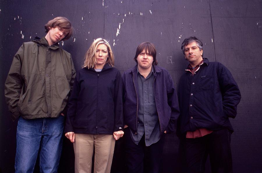 Sonic Youth London 1989 Photograph by Martyn Goodacre