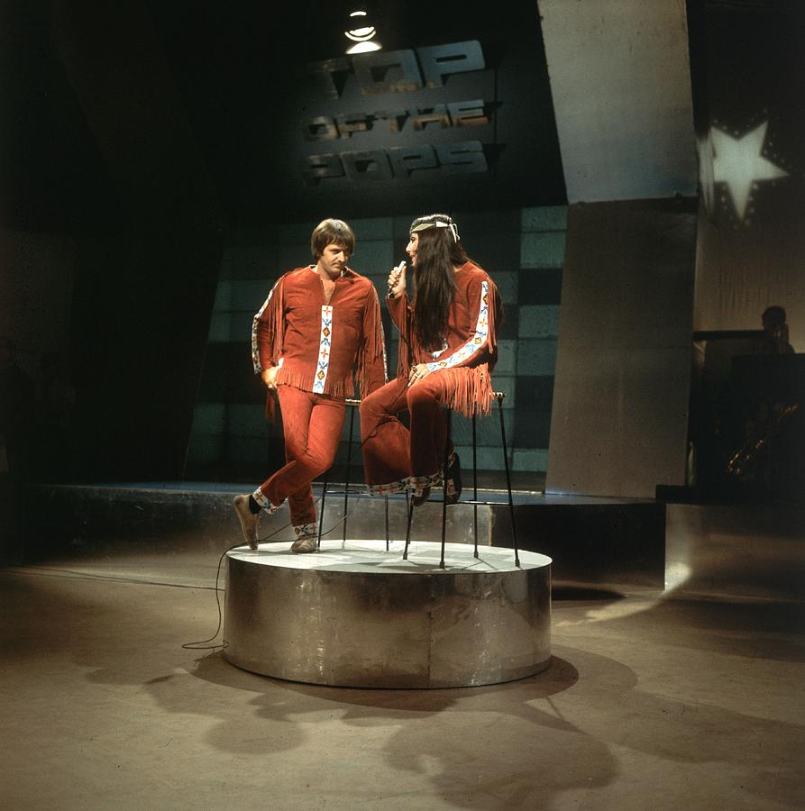 Sonny And Cher Photograph by Caroline Gillies