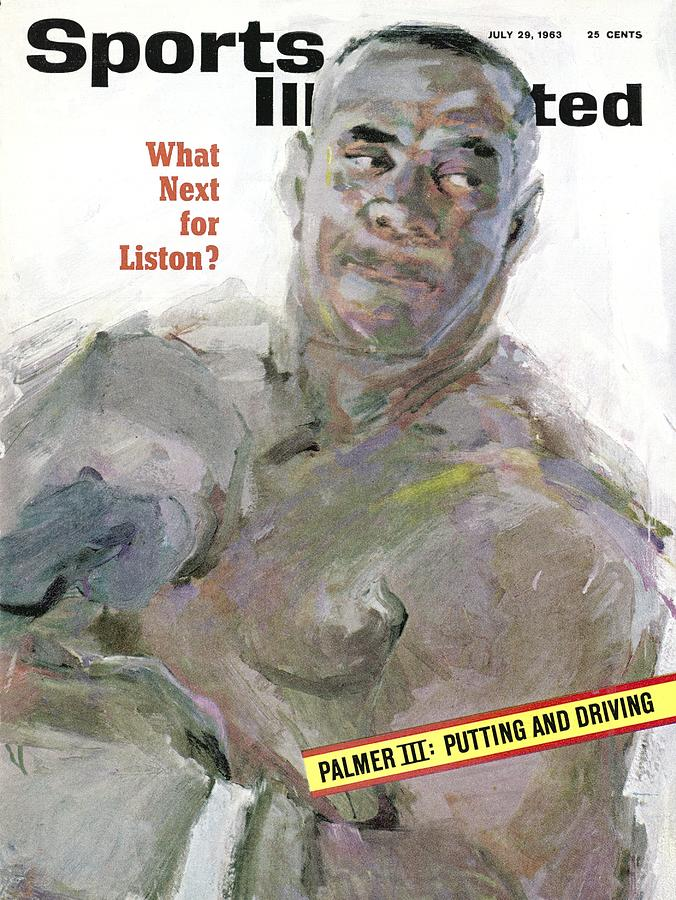 Sonny Liston, Heavyweight Boxing Champion Sports Illustrated Cover Photograph by Sports Illustrated
