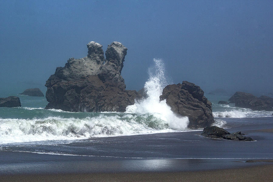 Sonoma Surf by Marie Leslie