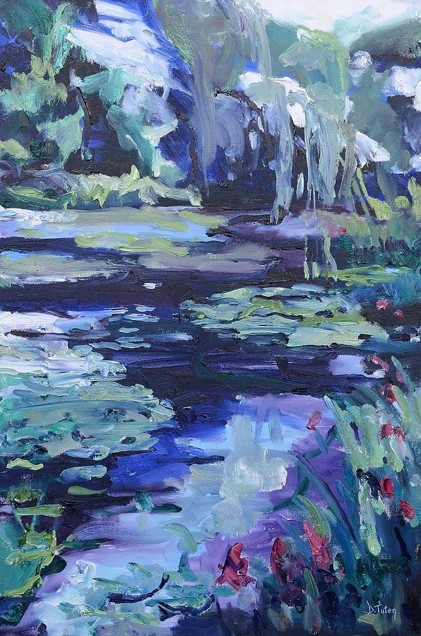 Soothing Watergarden by Donna Tuten