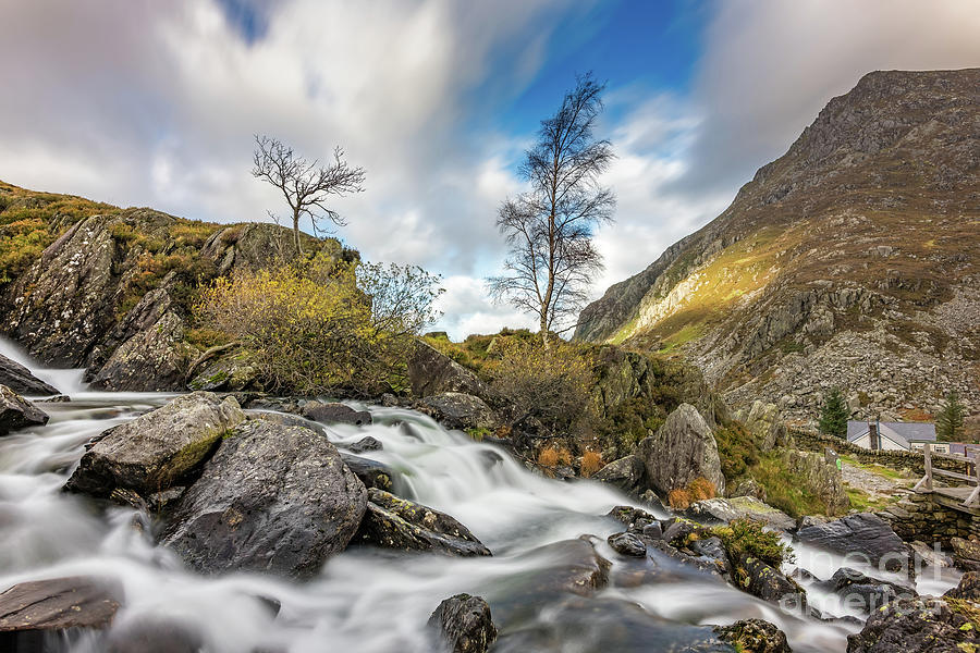 Snowdonia Photograph - Soothing Waters Snowdonia by Adrian Evans