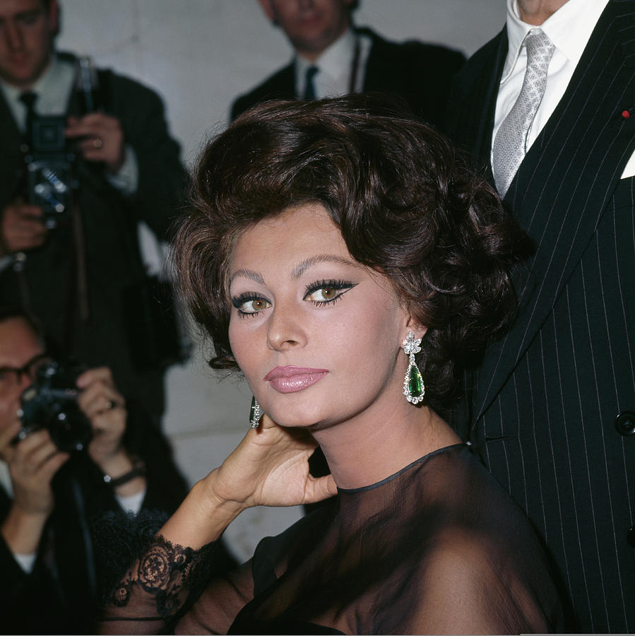 Sophia Loren Photograph by George Freston