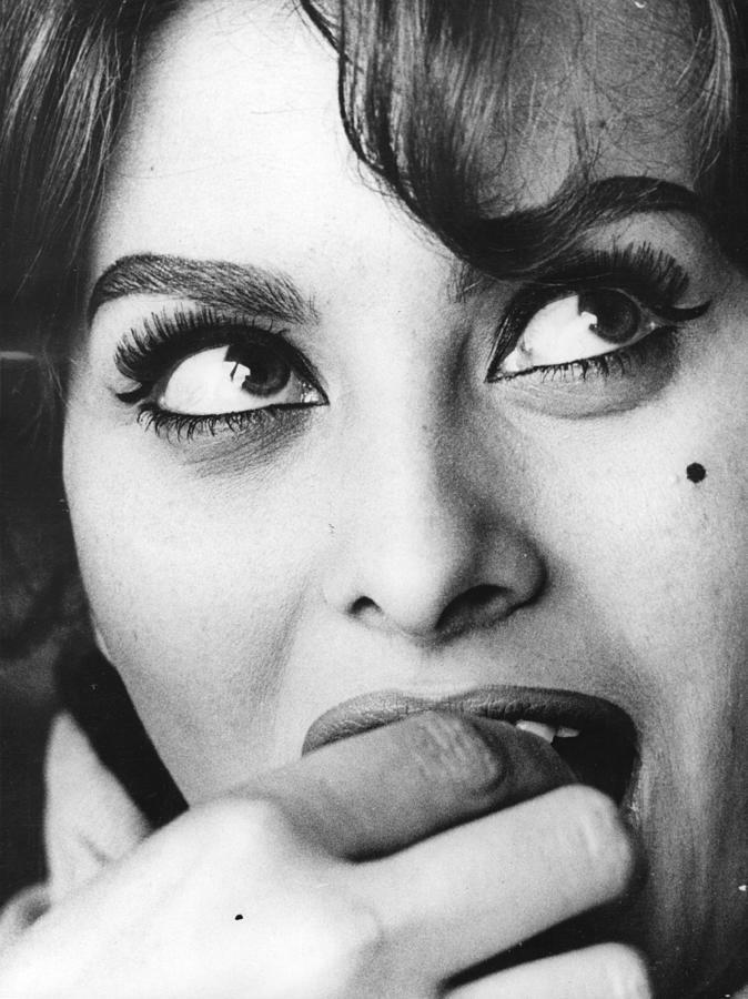 Sophia Loren Photograph by Keystone Features