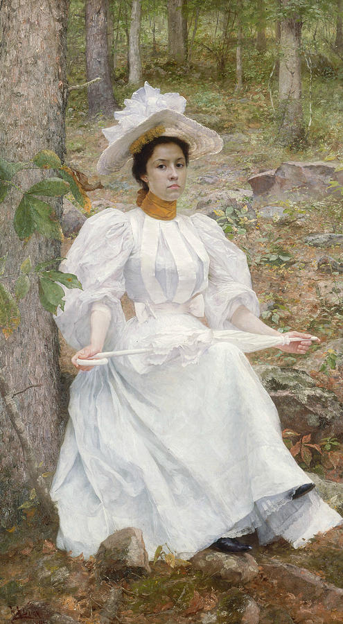 William Robinson Leigh Painting - Sophie Hunter Colston by William Robinson Leigh