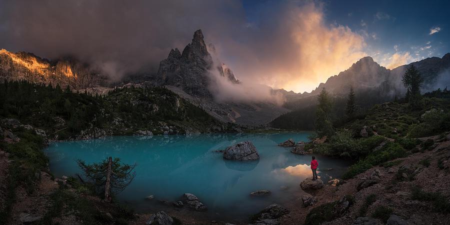 Sorapiss Photograph by Carlos F. Turienzo