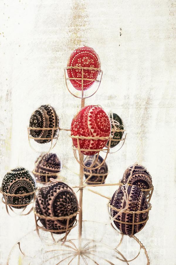 Sorbian Easter Eggs-3 by Eva Lechner