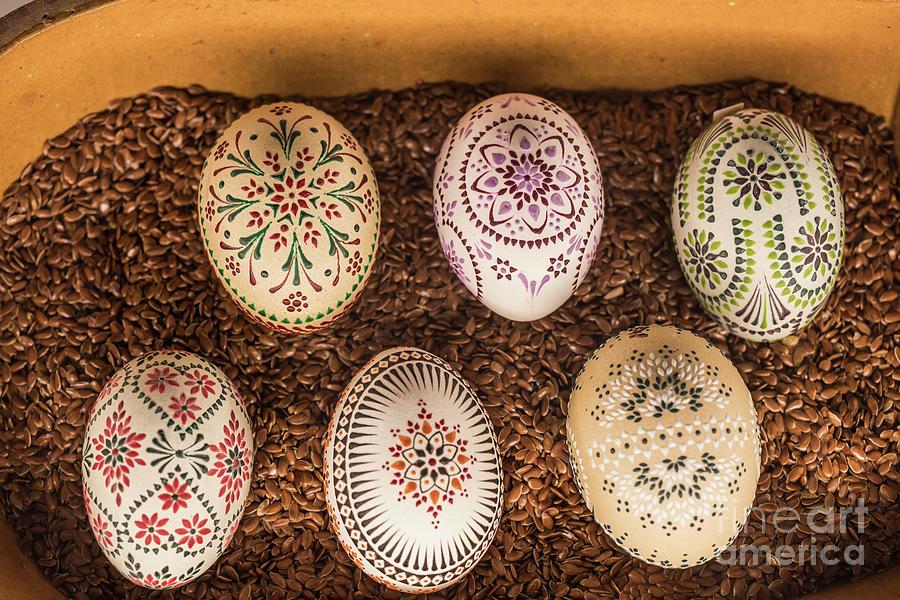 Sorbian Easter Eggs-4 by Eva Lechner