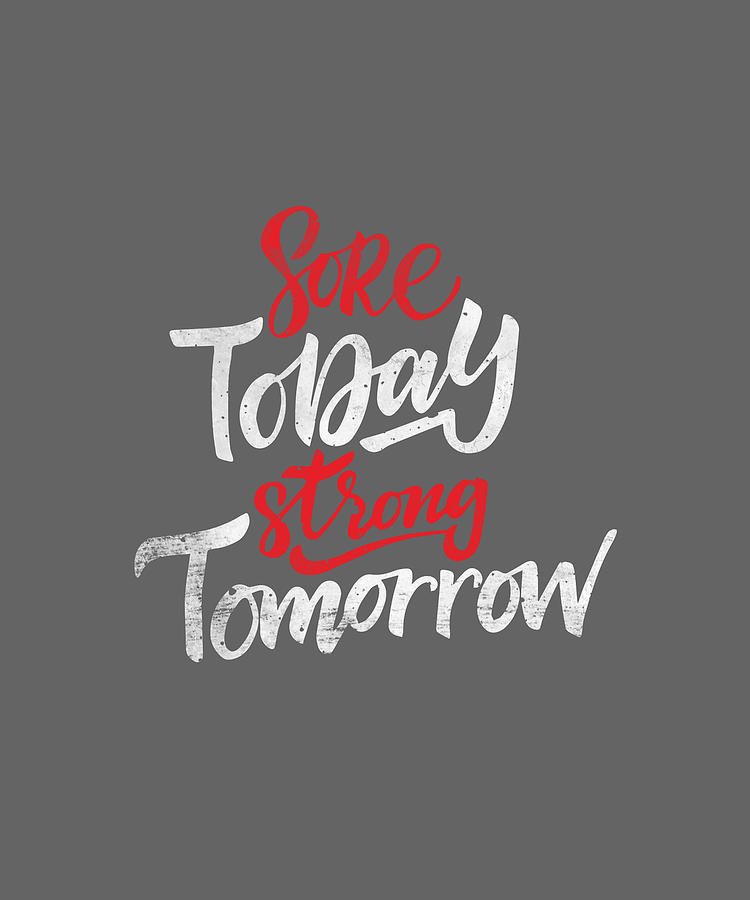 Tote Bag With Zip Sore Today Strong Tomorrow 3