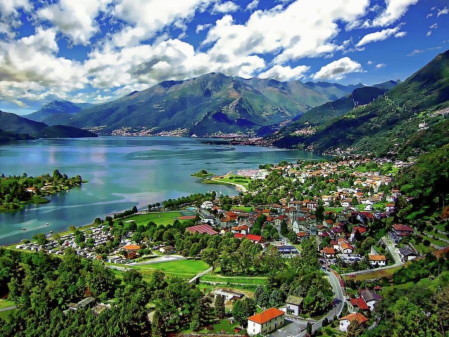 Sorico and Lake Como by Anthony Dezenzio