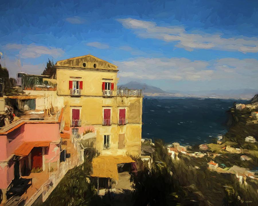 Italy Photograph - Sorrento, Italy by Tony Grider
