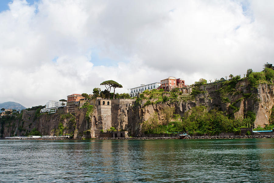 Sorrento View From Sea Photograph by Angelafoto