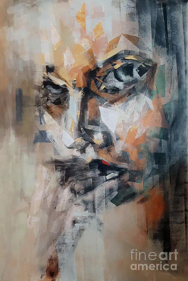 Off Painting - Sorrow by Stanciu Razvan
