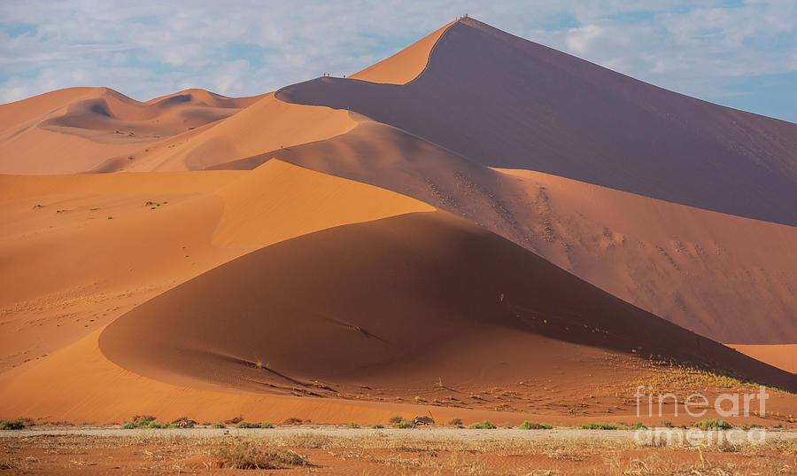 Sossusvlei Namibia Climbing Big Daddy