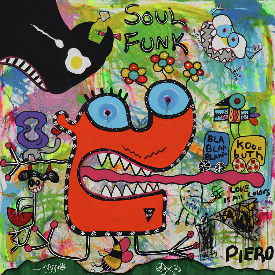 Urban Digital Art - Soul Funk by Piero