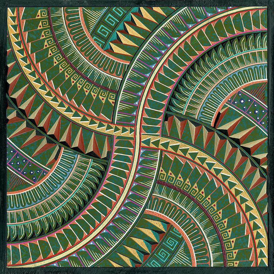 Native Ceramic Art - Sound Of Wind by Atlantis