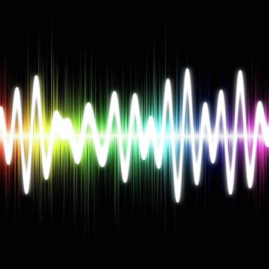 Sound Wave Photograph by Fotografstockholm