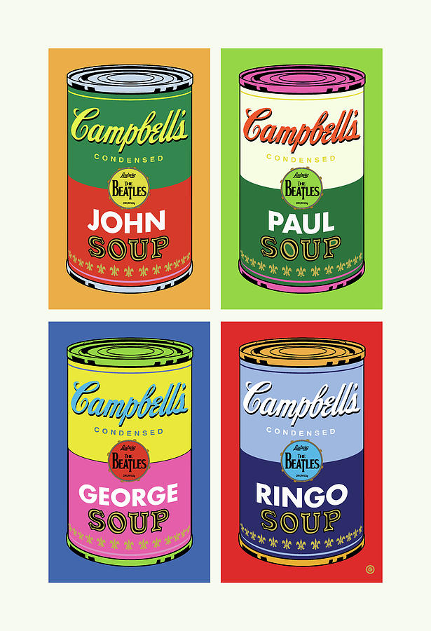 Soup Cans Two by Gary Grayson