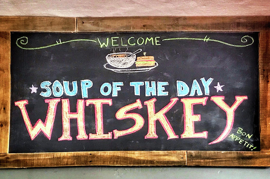 Soup Of The Day Photograph