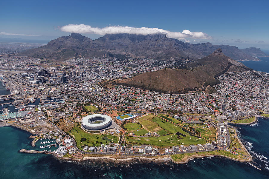 Architecture Photograph - South Africa - Cape Town by Michael Jurek