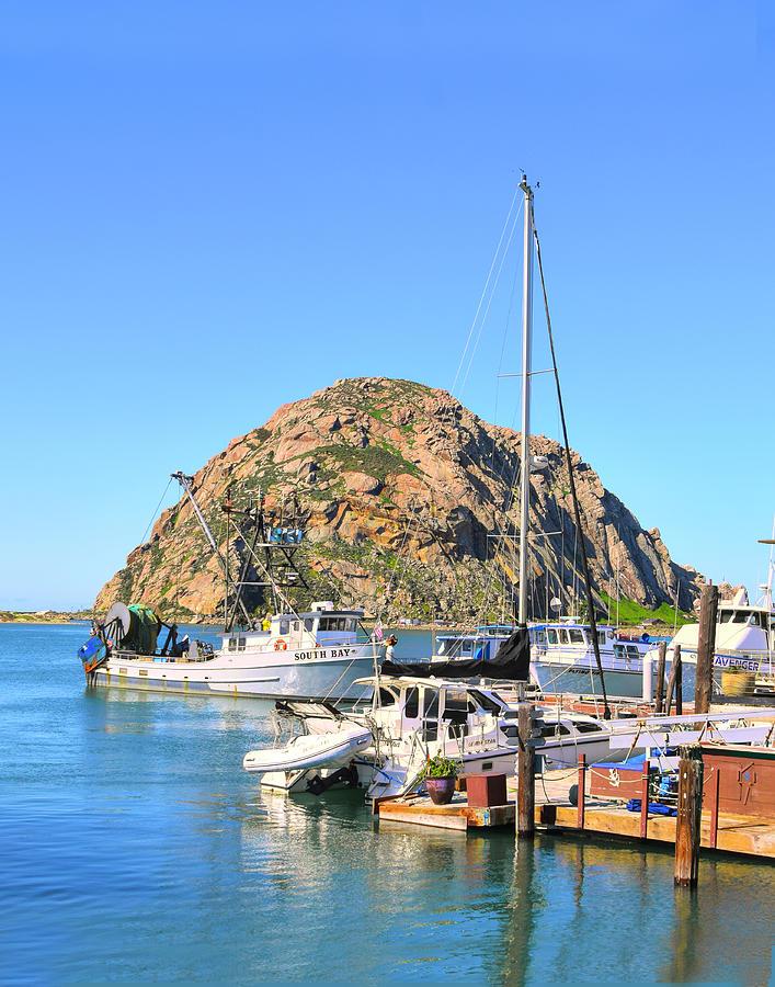 South Bay Trawler Morro Rock Photograph