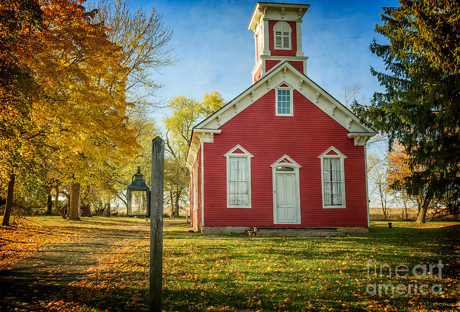 South Branch Schoolhouse by Debra Fedchin