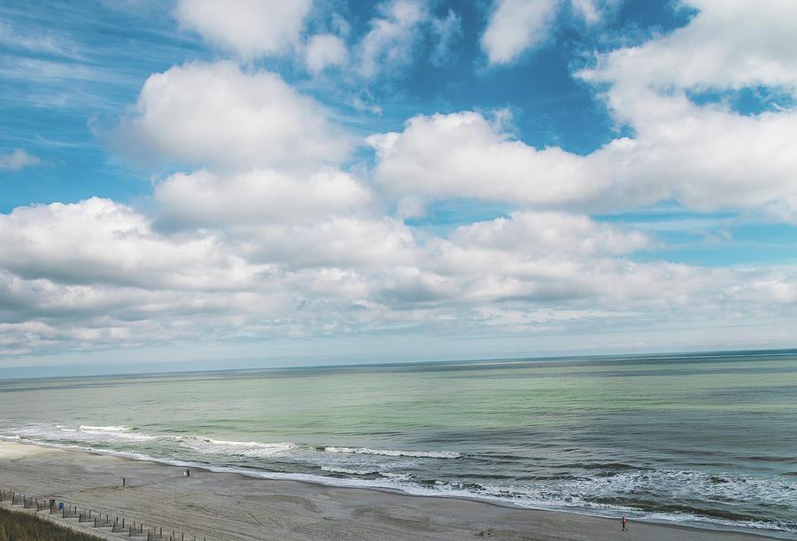 South Carolina Coastline 2 - Myrtle Beach by Andrea Anderegg