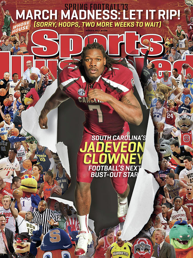 South Carolinas Jadeveon Clowney Footballs Next Bust-out Sports Illustrated Cover Photograph by Sports Illustrated