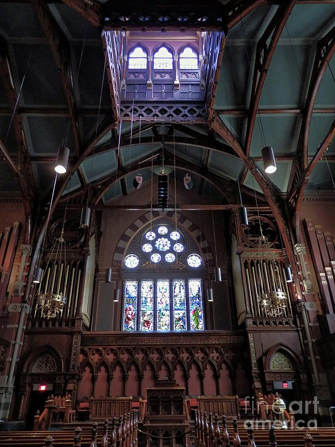 South Church, Boston by Marcia Lee Jones