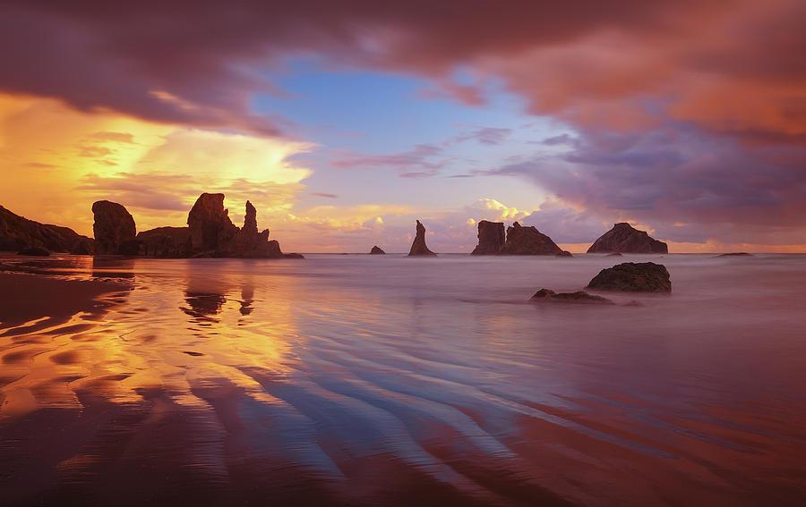 South Coast Sunset Photograph