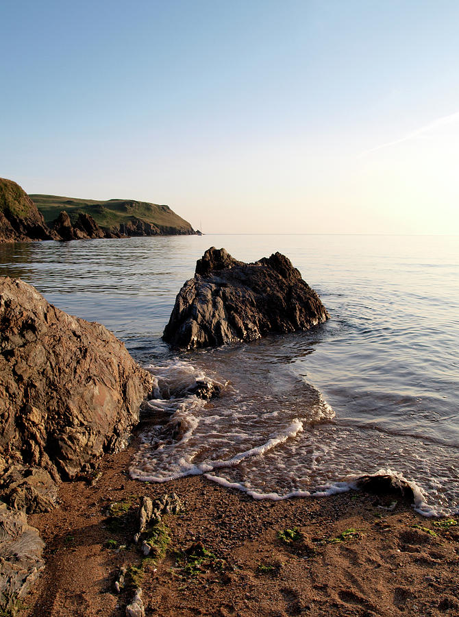South Devon Seashore Photograph by Nik Taylor