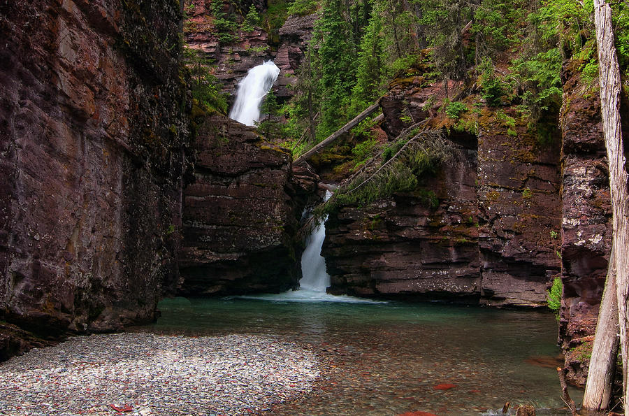 South Fork Waterfall by Steve Stuller