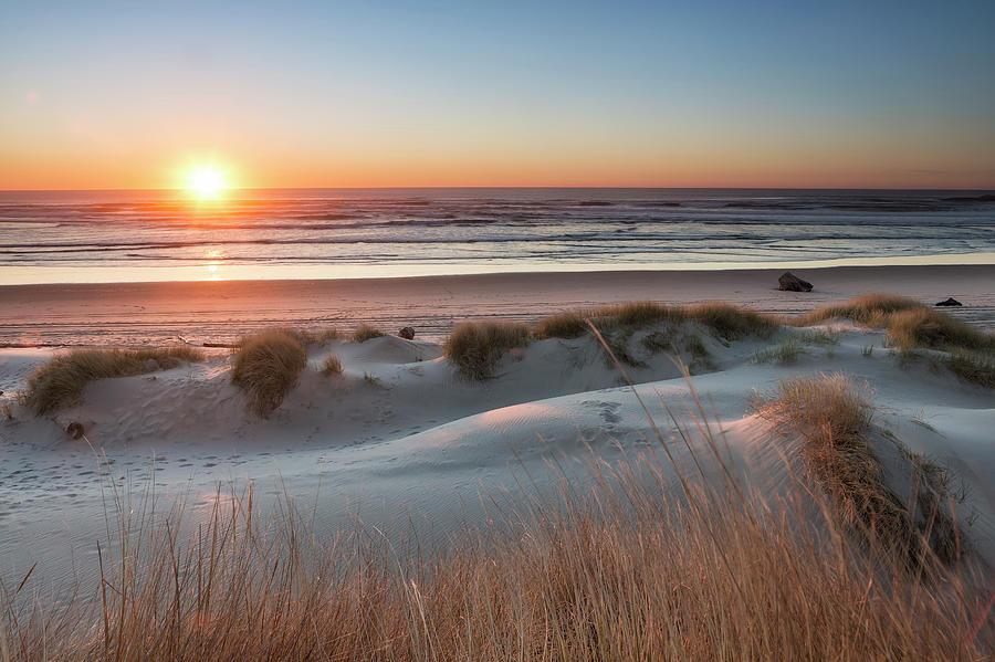 South Jetty Beach Sunset, No. 3 by Belinda Greb