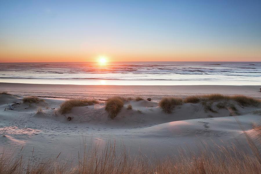 South Jetty Beach Sunset, No. 4 by Belinda Greb
