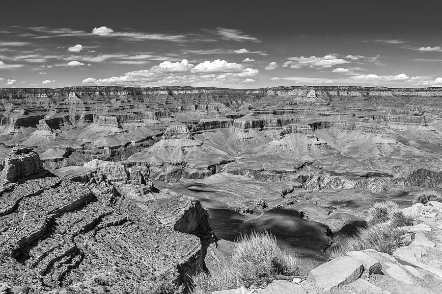 South Kaibab Trail 44 black and white by Marisa Geraghty Photography