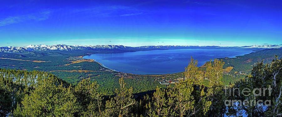 South Lake Tahoe Photograph - South Lake Tahoe by G Matthew Laughton