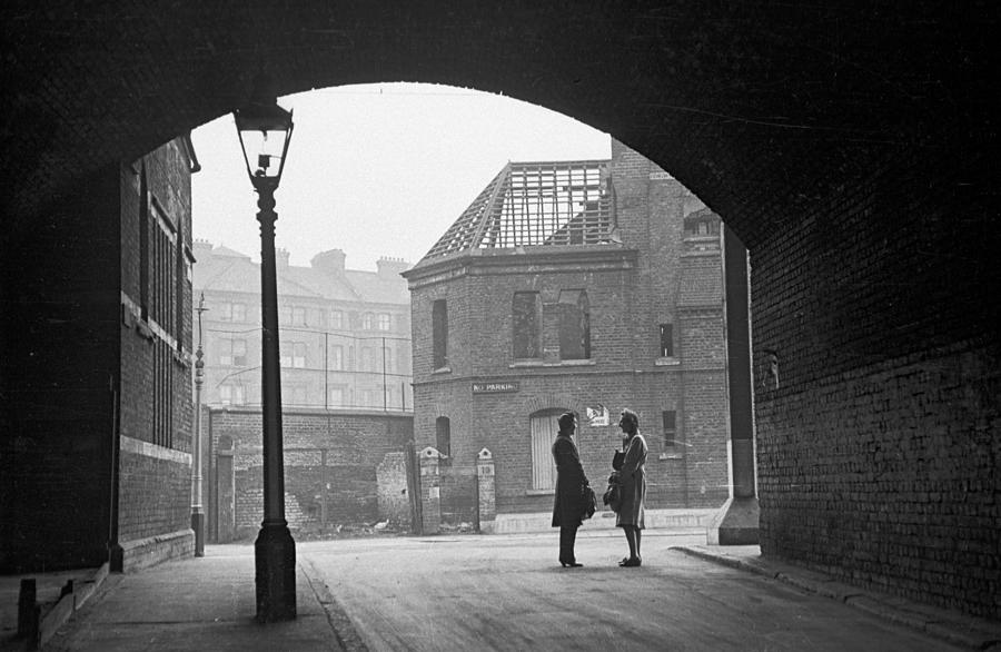 South London Street Photograph by Bert Hardy