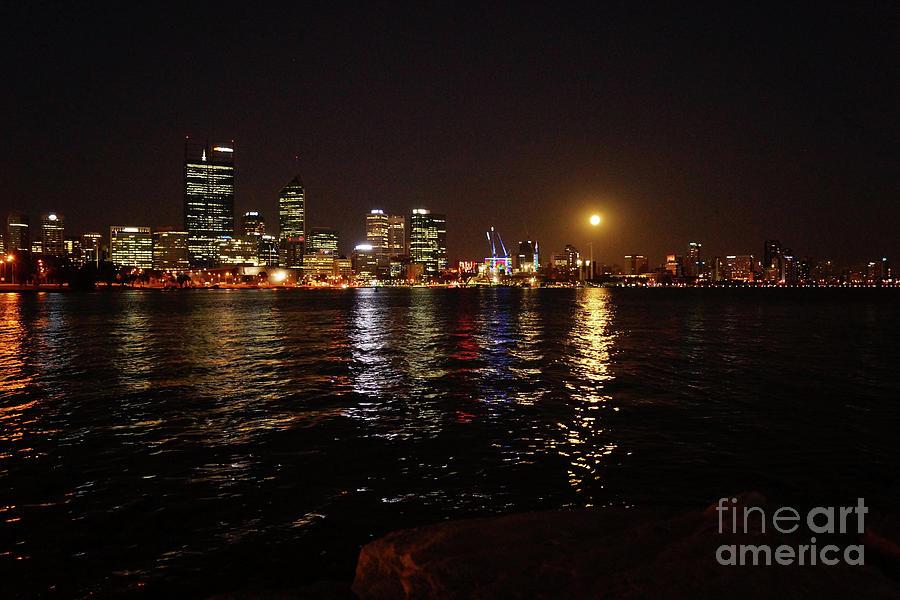 South Perth Supermoon Photograph
