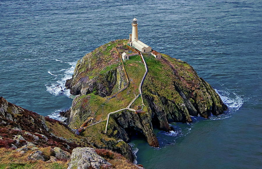 South Stack Lighthouse by Anthony Dezenzio