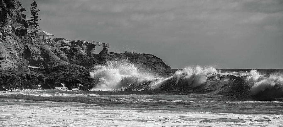 South Swell South Laguna BW by Cliff Wassmann