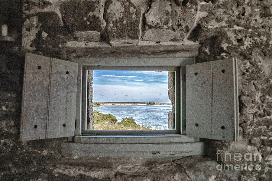 South View from Fort Matanzas by Judy Hall-Folde