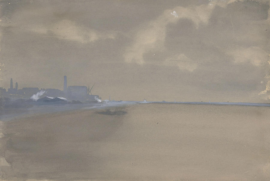 Southampton Water by James Abbott McNeill Whistler