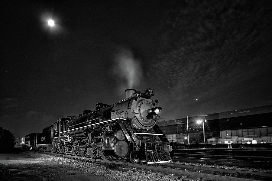 Southern 4501 Under The Stars Photograph