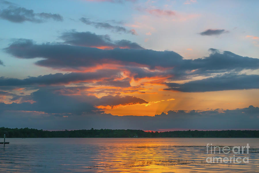 Southern Exposure - Wando River Sunset by Dale Powell