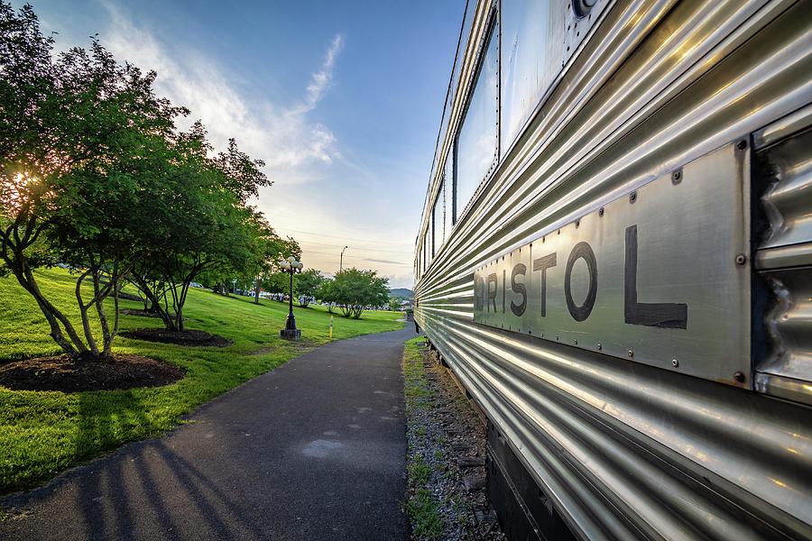 Southern Pullman Coach on the West Davis Greenway by Greg Booher