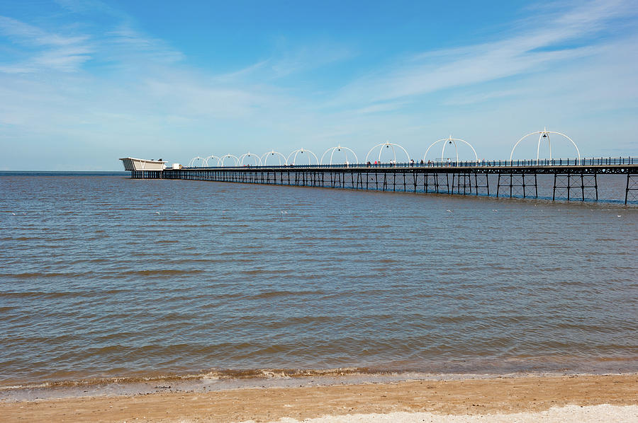 Southport Pier by Helen Northcott
