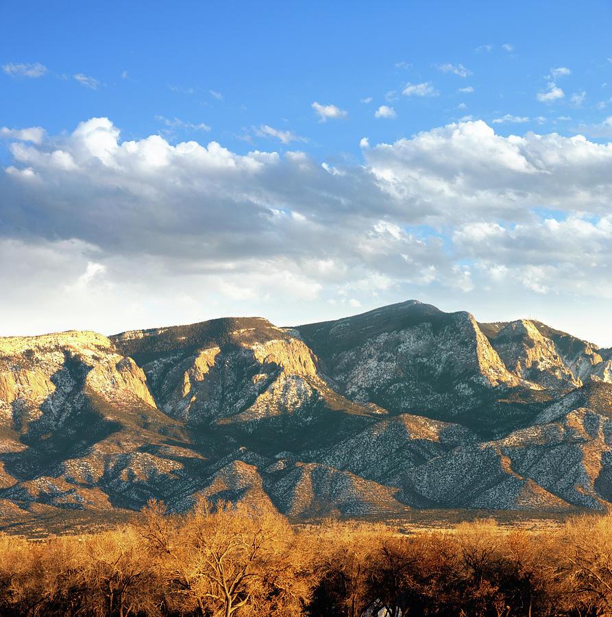 Southwestern Landscape With Sandia Photograph by Ivanastar