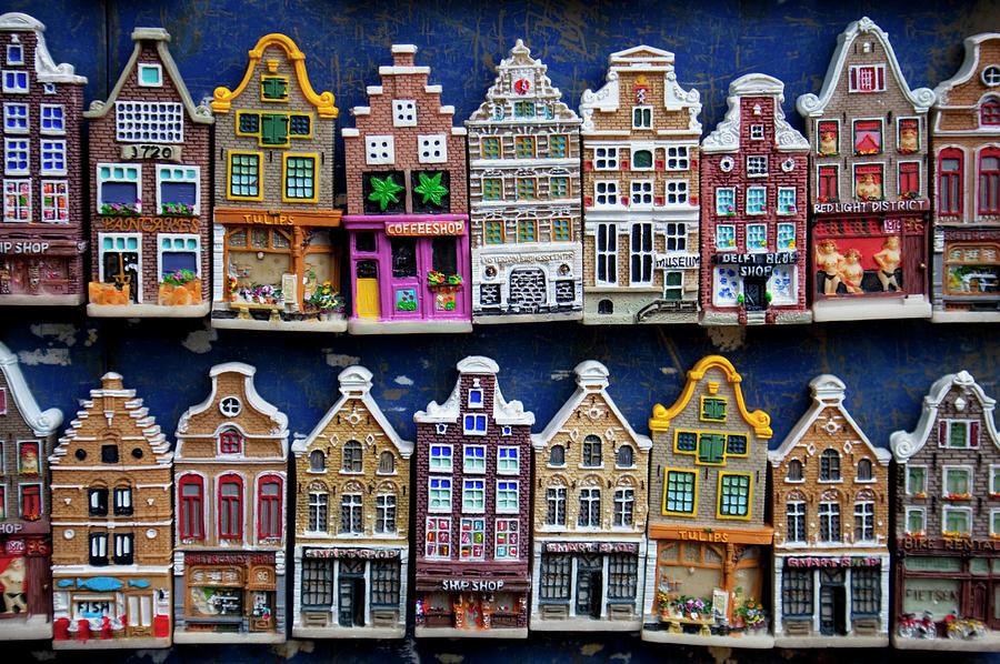 Souvenir Model Houses For Sale Photograph by Martin Child