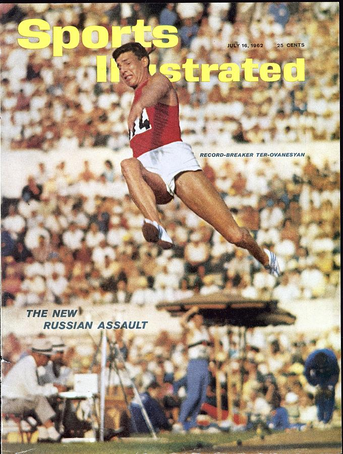 Soviet Union Igor Ter-uvanesyan, 1960 Summer Olympics Sports Illustrated Cover Photograph by Sports Illustrated